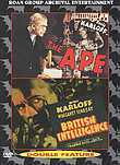 Boris Karloff: The Ape / British Intelligence