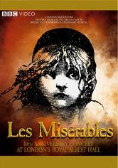 Rent Les Misérables in Concert on DVD