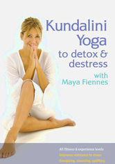 Rent Kundalini Yoga to Detox & Destress on DVD