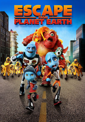 Rent Escape from Planet Earth on DVD