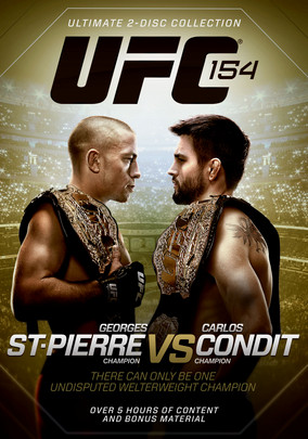 Rent UFC 154: St-Pierre vs. Condit on DVD