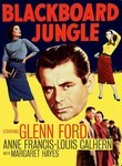 Blackboard Jungle (1955) poster