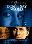 Don't Say a Word (2001) Box Art