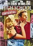 High School Confidential (1958) poster
