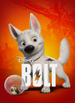 Bolt in Disney Digital 3D poster